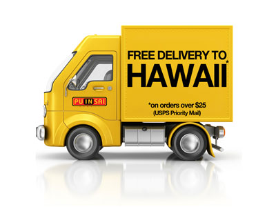 Free Delivery to Hawaii